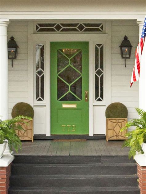 green house door color does your porch need curb appeal fitzgibbons real estate