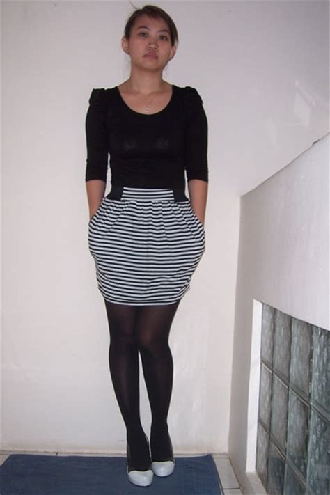 white shoes black dresses black tights quot worst day