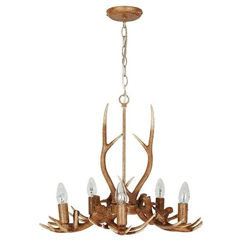 Next Chandelier Light Antler 5 Light Chandelier From Next Autumn Woodland