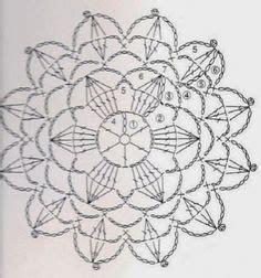 Anabelia Craft Design Crochet Doilies And Lace Motifs le diagramme du mandala flower crochet