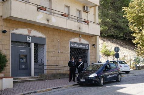 credito siciliano palermo salemi rapina col cer alla di credito siciliano