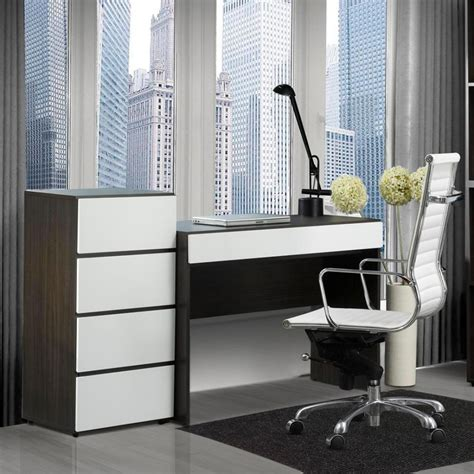 contemporary desks for small spaces amys office with