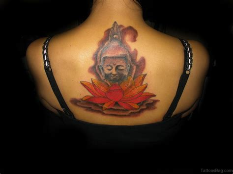 red buddha tattoo 63 fantastic buddha tattoos for back