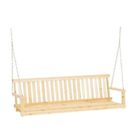 Porch Swing Home Depot post 5 ft traditional wood porch patio