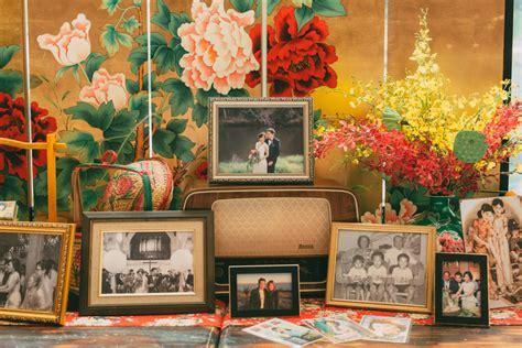 Yi Ann   Howard   1920s Old Shanghai Glam Wedding Red Wedding