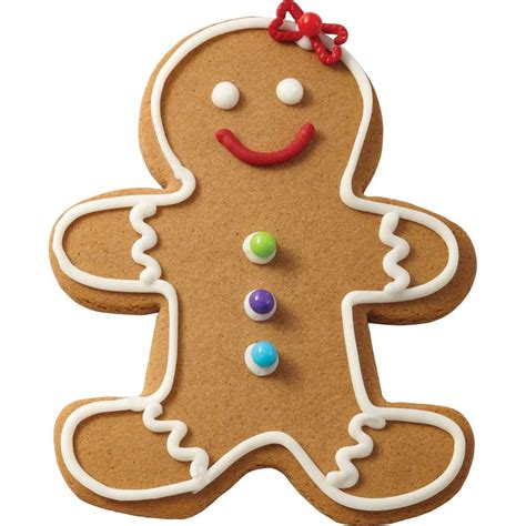 traditional gingerbread girl wilton