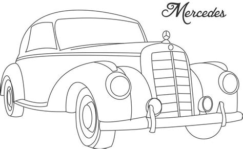 vintage cars drawings line drawing of cars car coloring