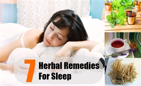 7 herbal remedies for sleep how to cure insomnia with