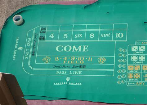 craps table layout for sale caesars palace casino las vegas authentic craps layout 14
