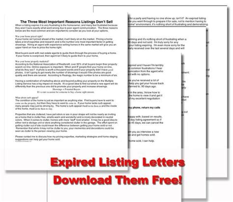 expired listing letter 12 best real estate door hangers images on 1213