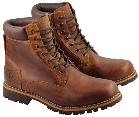 mens brown leather timberland boots timberland mens earthkeeper boots 6 inch boot mid brown
