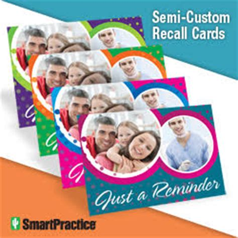 recall card template get the largest selection of dental recall cards
