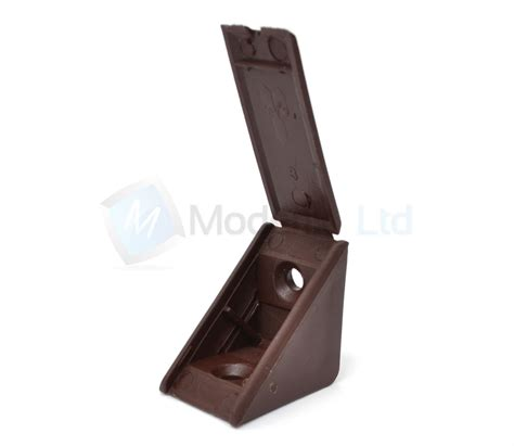 Kitchen Cabinet Shelf Brackets by Kitchen Cabinet Shelf Supports Pegs Pins Plastic Single Mount Brown Pack Of 4 Ebay