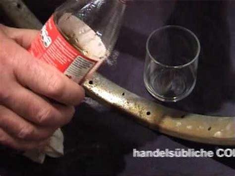 Polieren Alu Folie by Chrom Rost Entfernen Mit Cola Und Alu Folie