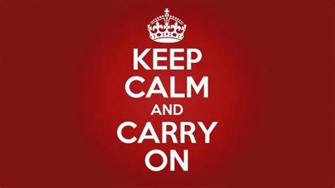 significado de las imagenes keep calm la verdadera historia del cartel de keep calm and carry on