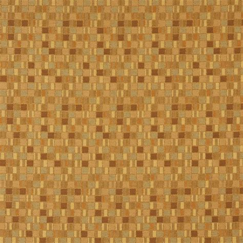 upholstery grade fabric gold small scale geometric boxes contract grade upholstery