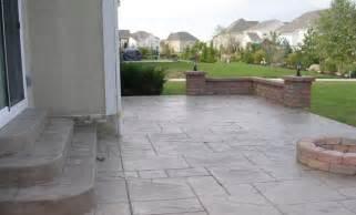 Concrete Or Paver Patio Custom Concrete Plus Sted Concrete Patio Concrete Paver Walls