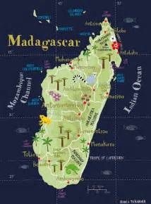 Madagascar World Map by Map Of Madagascar Art And Design Inspiration From Around