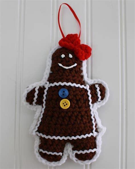 gingerbread christmas tree pattern gingerbread christmas tree ornaments crochet pattern