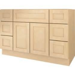 bathroom vanity drawer base cabinet maple shaker
