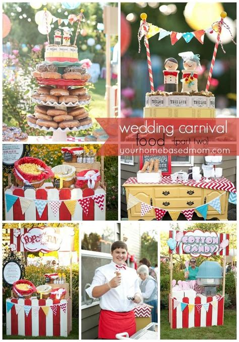 the wedding carnival the food part two