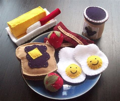 felt kitchen pattern felt for breakfast kids parenting pinterest new