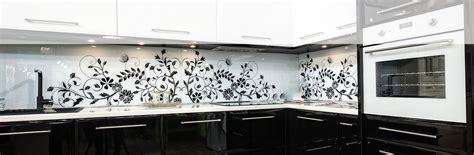 Black Kitchen Design Glass Splash Backs Cohesion Interiors