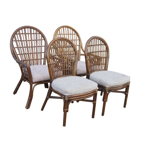 Bamboo Chairs Dining by Rattan Dining Table Black Rattan Dining Chair Dining