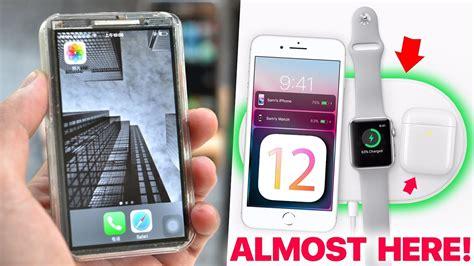 new ios 12 features leak wwdc date iphone x mini mod