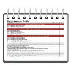 fire risk assessment checklist darley pcm