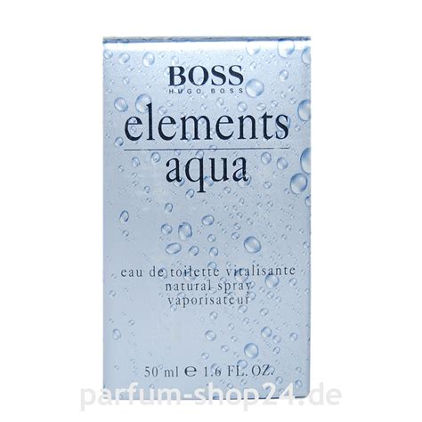 Parfum Hugo Element Aqua elements aqua hugo eau de toilette vapo edt 50