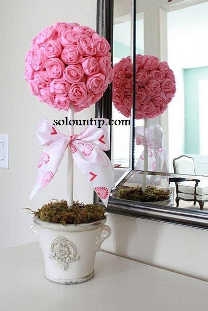 centros de mesa con rosas de papel solountip