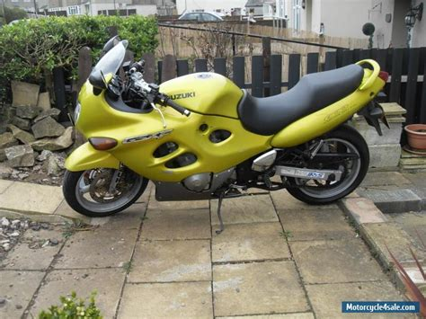 Suzuki Motorrad Gelb by 1998 Suzuki Gsx 600 Fw For Sale In United Kingdom