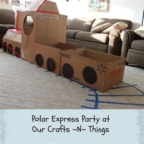 how to make a polar express paper christmas tree our crafts n things 187 archive 187 polar express