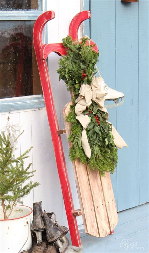 25 best ideas about sled decor on pinterest christmas