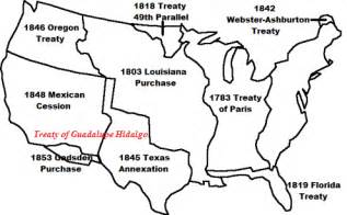 us expansion map blank mexican american war for