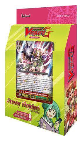 Booster Vanguard G Chb01 Eng cfv g td03 flower maiden of purity cardfight