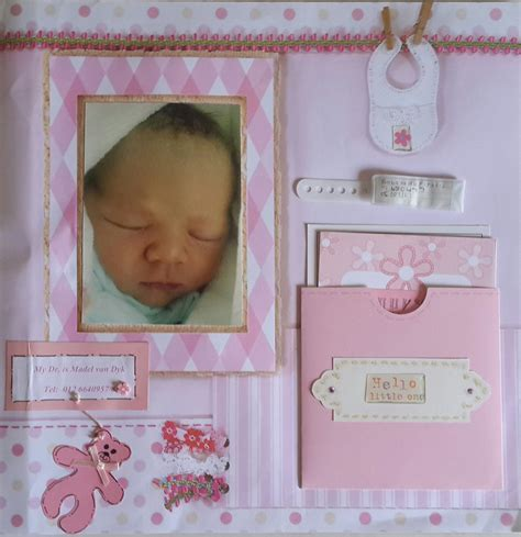 scrapbook layout for baby baby girl birth layout scrapbook com page layouts