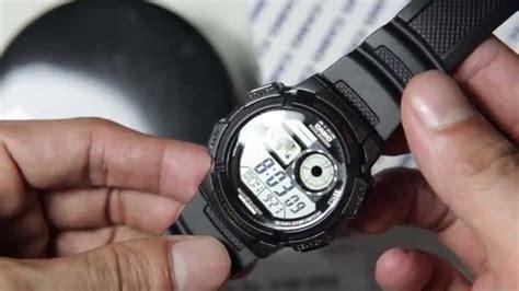 Jam Tangan Casio Ae 1000w 1av casio standard ae 1000w 1av original