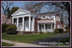 dr peter allen greek revival style house kinsman oh dr peter allen house photograph ohio guide collection