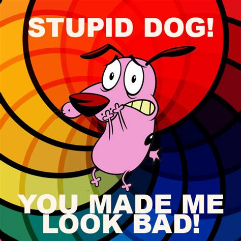 Courage The Cowardly Dog Meme - image 49946 courage the cowardly dog know your meme