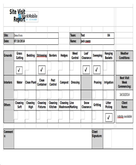 visit agenda templates 9 free word pdf format download