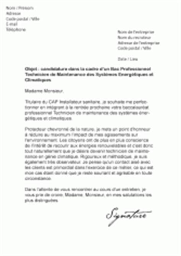 Lettre De Motivation De Technicien D Usinage Mod 232 Les De Lettres De Motivation Pour Un Bac Pro