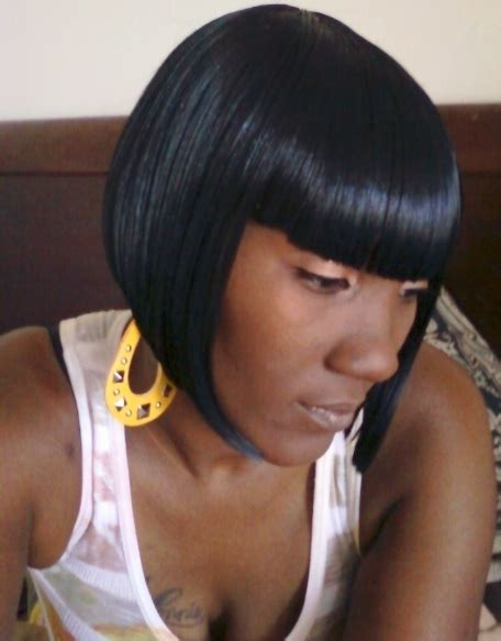 black bob hairstyles quick weave shondra s quick weave hairstyles bob cut thirstyroots