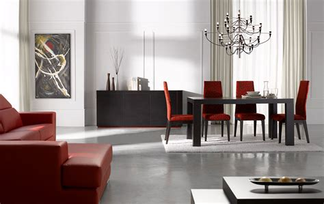 modern dining room in stylish and artistic design amaza