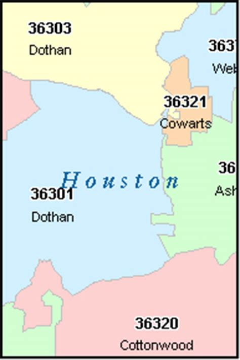 map of houston county alabama dothan alabama al zip code map downloads