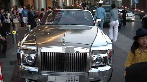 roll royce chrome rolls royce phantom chrome 2013 youtube