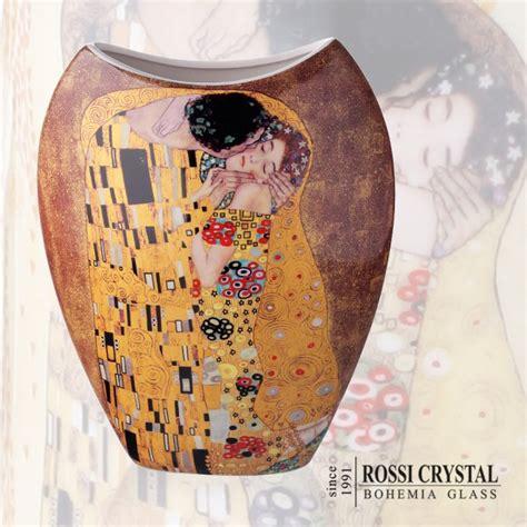 Gustav Klimt Vase by Vase G Klimt Bohemia Glass