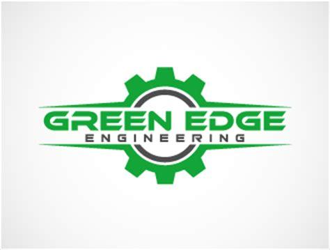 logo design for manufacturing green edge engineering logo design 48hourslogo com
