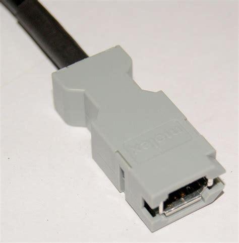 Encoder Sensor 6 Pin molex 54280 0609 connector 6 pin usb 1394 for yaskawa panasonic servo motor encoder 6p